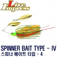 SPINNER BAIT TYPE-IV 1/4oz, 3/8oz / 스피너 베이트 타입-4 1/4oz, 3/8oz